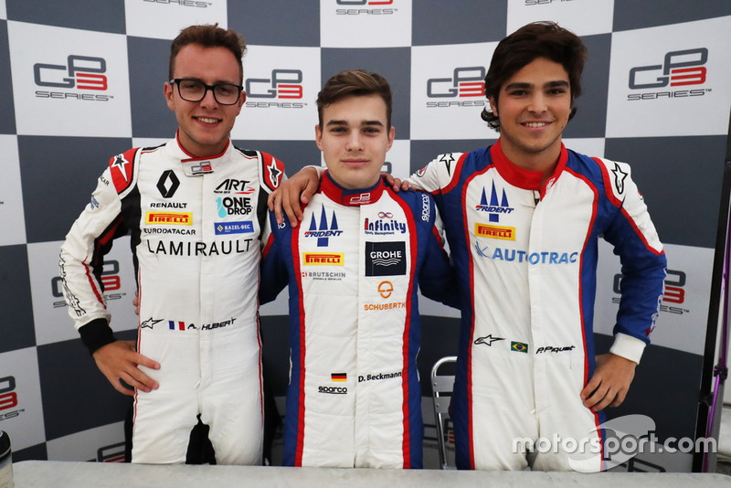 Anthoine Hubert, ART Grand Prix, David Beckmann, Trident y Pedro Piquet, Trident