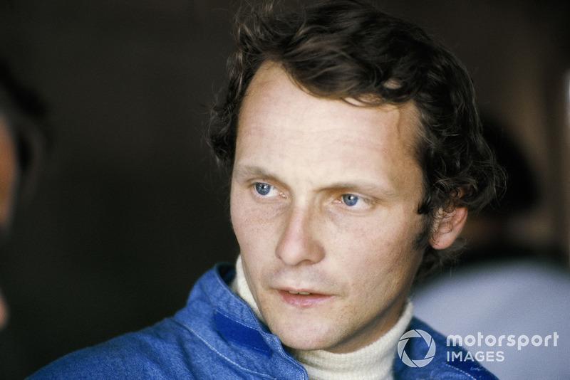 GP de Argentina 1974- Primer podio de Niki Lauda en Fórmula 1, fue segundo (acabó logrando 54 podios en su carrera)