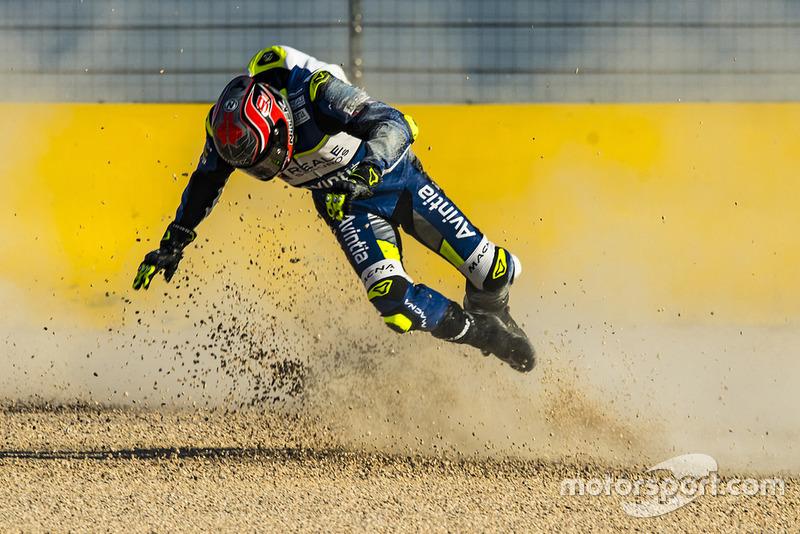 Sturz: Jordi Torres, Avintia Racing
