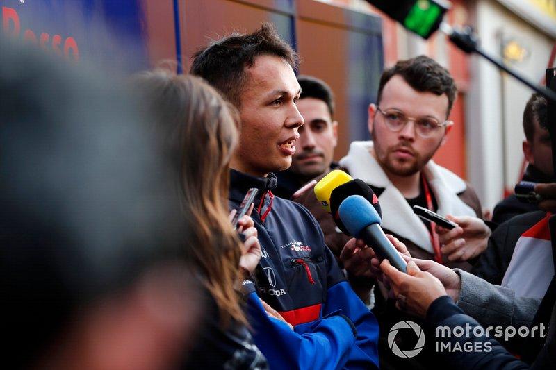 Александр Элбон, Scuderia Toro Rosso