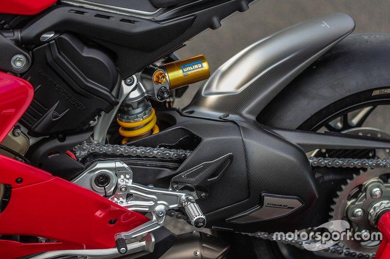 Ducati Panigale V4r Detail At Ducati Panigale V4r Testing World
