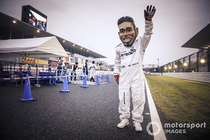 Fan de Lewis Hamilton, Mercedes AMG F1