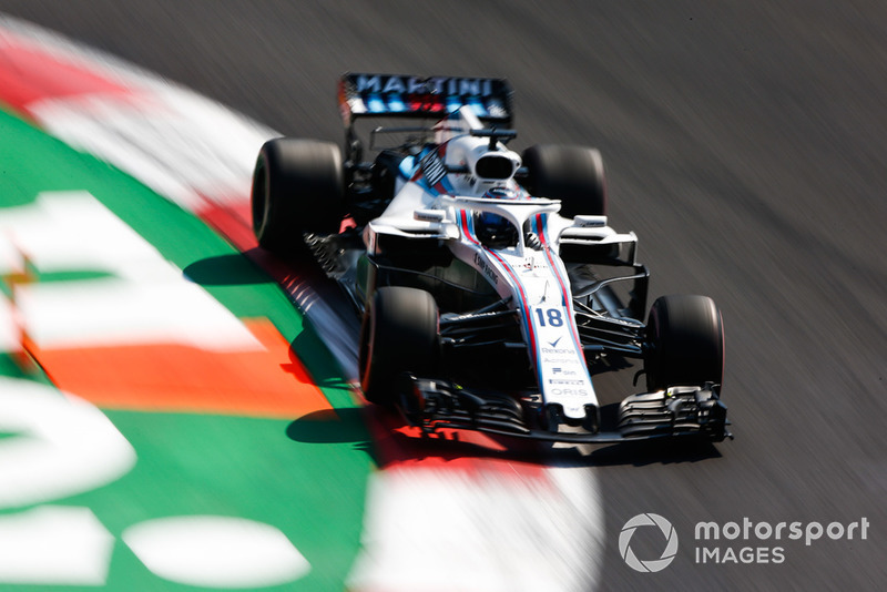 17. Lance Stroll, Williams