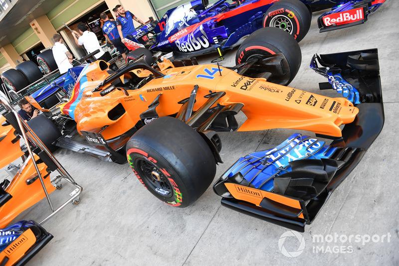 Special livery Fernando Alonso, McLaren MCL33