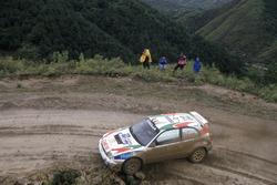 Didier Auriol, Denis Giraudet, Toyota Corolla WRC