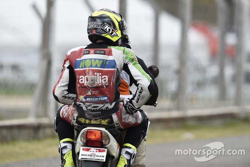 Aleix Espargaro, 15 kali kecelakaan