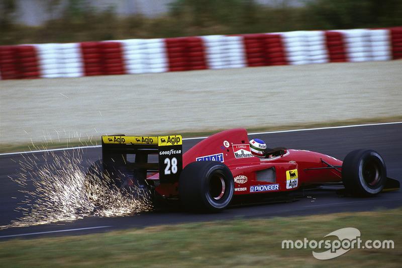 1992 - Ivan Capelli, Ferrari