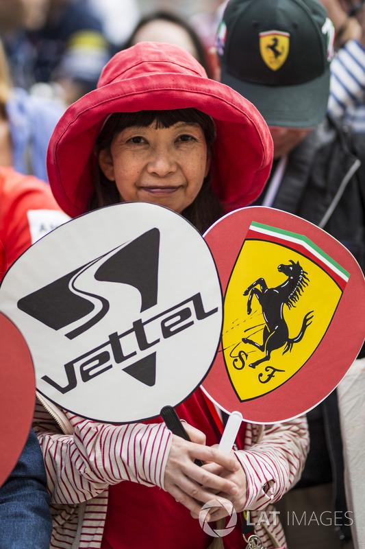 Ferrari fan
