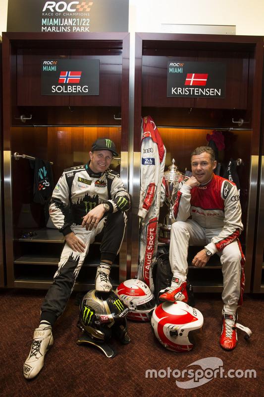 Petter Solberg und Tom Kristensen