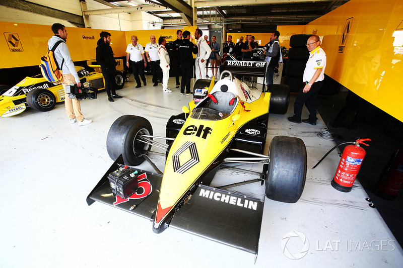 Renault Sport F1 Team F1 Historic, Франк Монтані