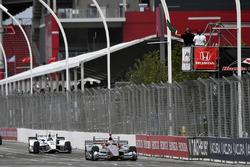 Will Power, Team Penske Chevrolet, JR Hildebrand, Ed Carpenter Racing Chevrolet