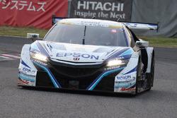 #64 Nakajima Racing Honda NSX Concept GT: Bertrand Baguette, Kosuke Matsuura