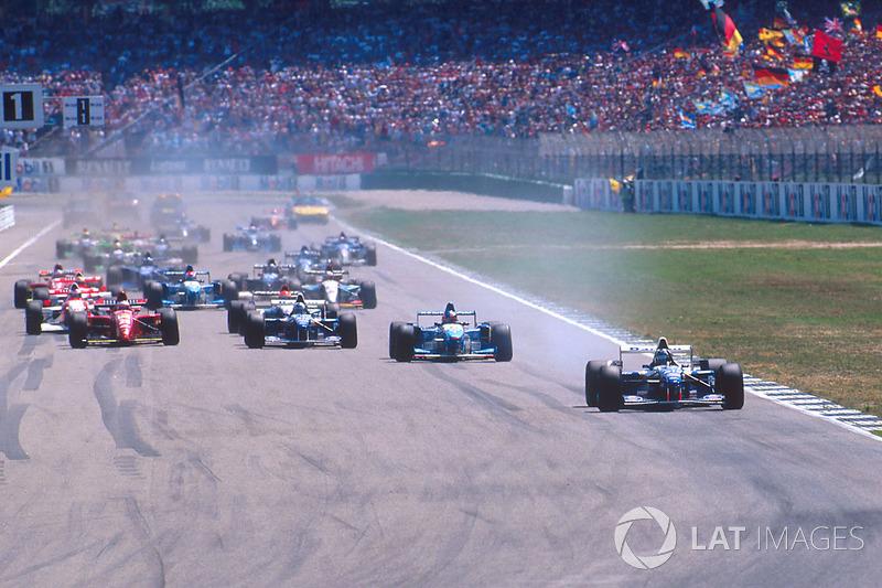 Ничья в четырех первых Гран При