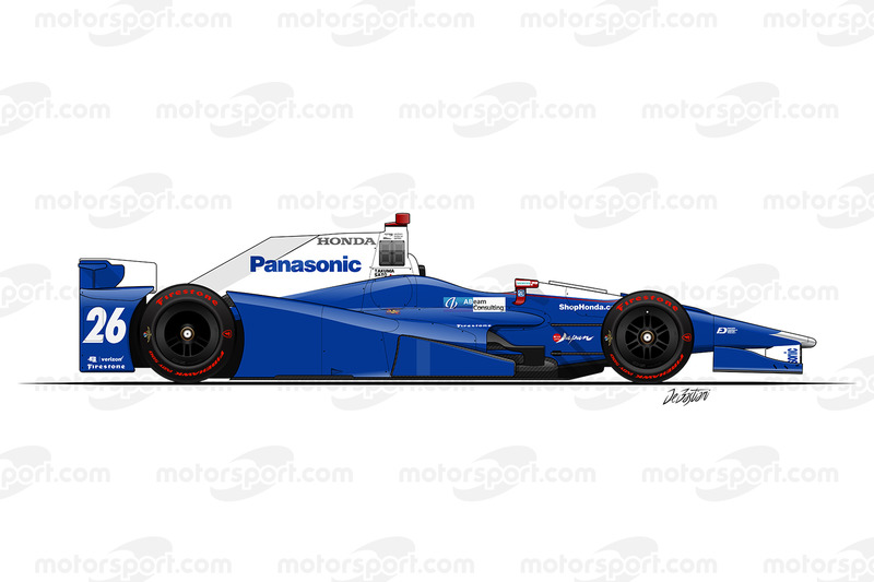 #26 - Takuma Sato, Andretti Autosport Honda