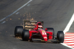 Jean Alesi. Ferrari 643