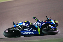 Аварія Андреа Янноне, Team Suzuki MotoGP