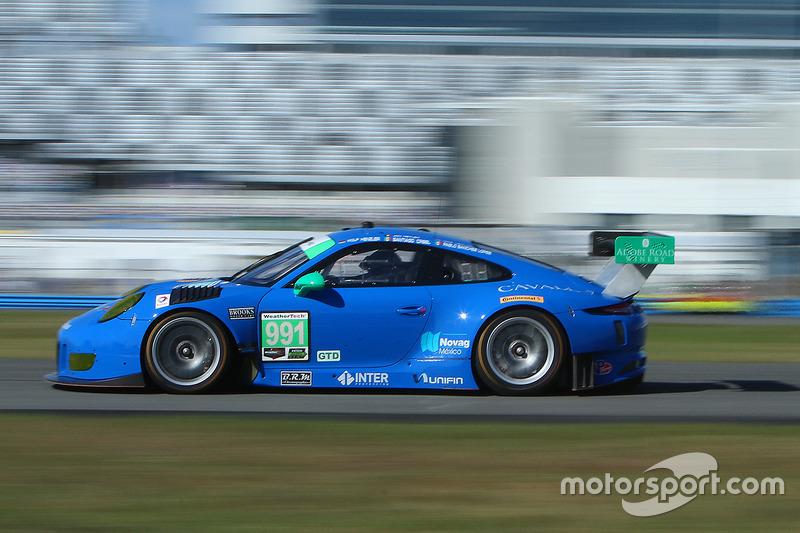 #991 TRG Porsche 911 GT3 R: Santiago Creel, Wolf Henzler, Jan Heylen