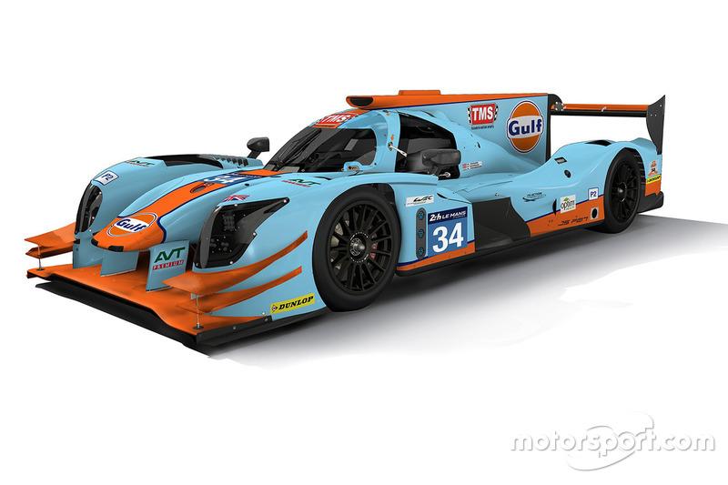 Ливрея прототипа Ligier команды Tockwith Motorsports