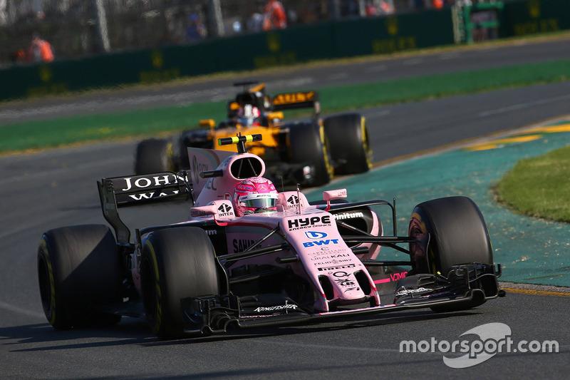 Esteban Ocon, Sahara Force India F1, VJM10