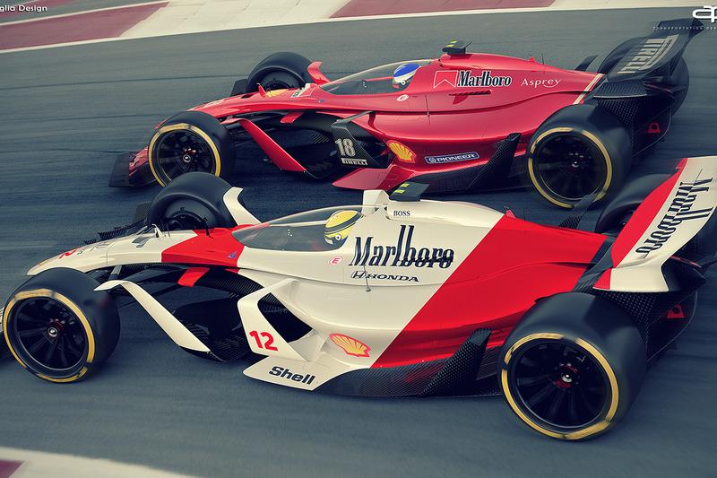2025 Ferrari ve McLaren