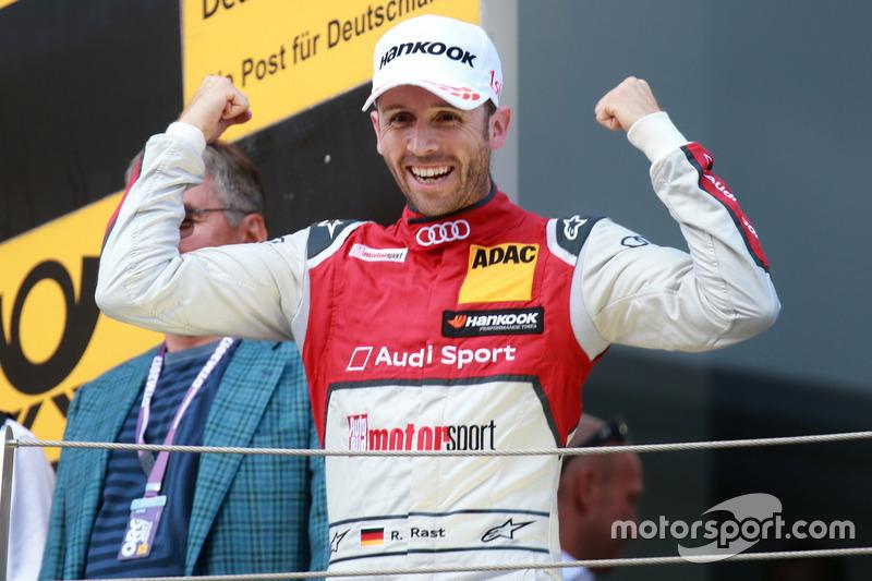 Подіум: Рене Раст, Audi Sport Team Rosberg, Audi RS 5 DTM