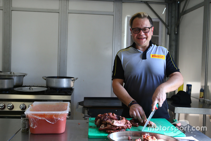 Spyros Theodoridis, chef Pirelli