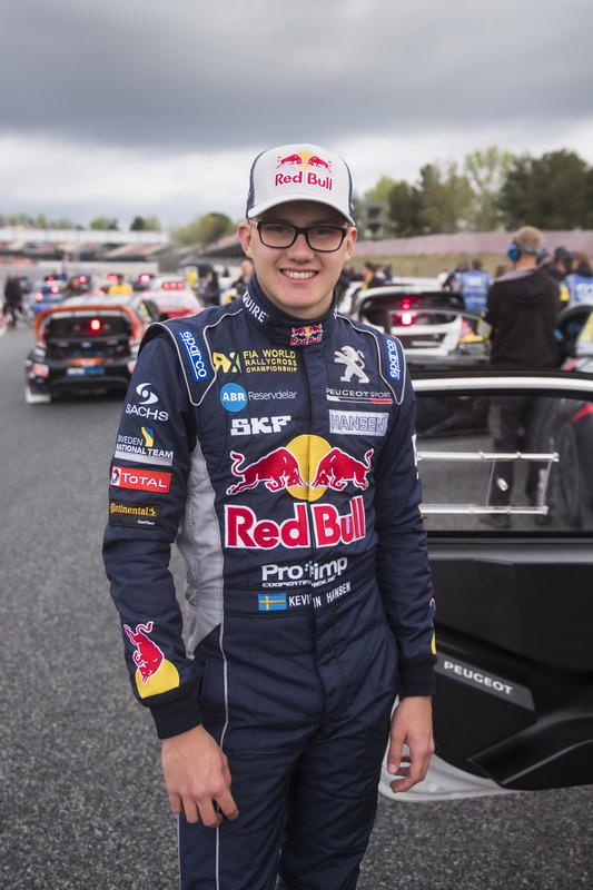 Kevin Hansen, Team Peugeot-Hansen Academy, Peugeot 208 WRX