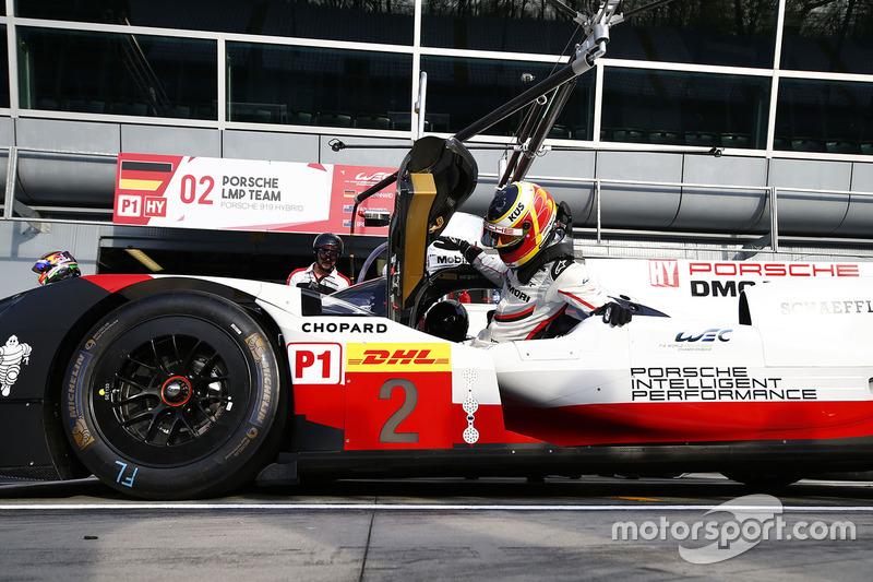 8. #2 Porsche Team Porsche 919 Hybrid: Timo Bernhard