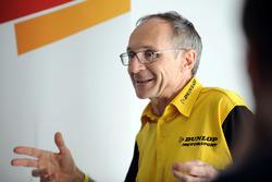 Jean Felix Bazelin, Director de operaciones de Dunlop Motorsport