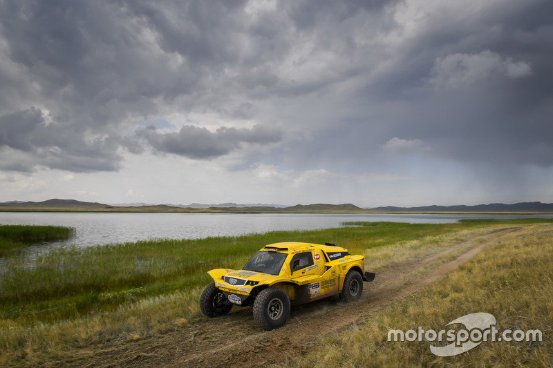 #121 Geely Auto Cooper Tires Team Geely: Kun Liu, Mingji Fang