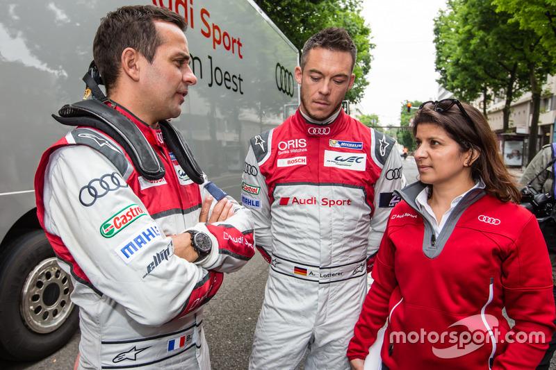 Audi Sport Team Joest: Бенуа Трелує, Андре Лоттерер та гоночний інженер Ліна Гейд