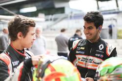 Jehan Daruvala, Josef Kaufmann Racing y Lando Norris, Josef Kaufmann Racing