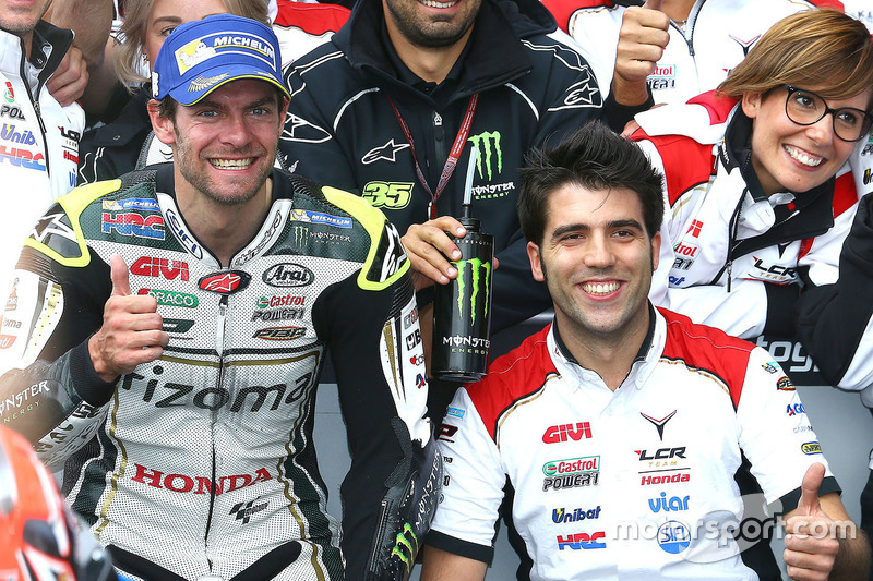 Second place Cal Crutchlow, Team LCR Honda