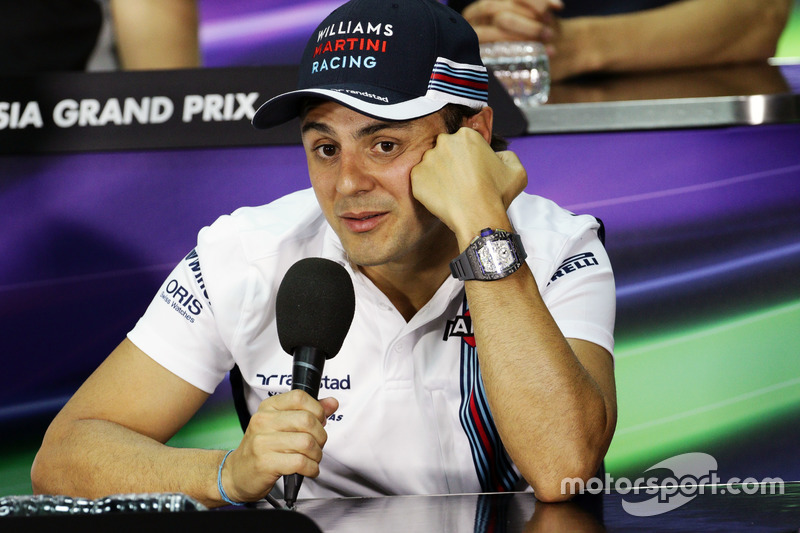Felipe Massa, Williams in der FIA Pressekonferenz
