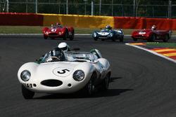 #5 Jaguar D-type (1955): Карлос Монтеверде, Гері Пірсон