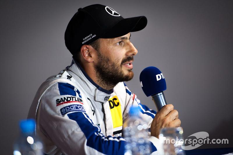 Conferenza stampa: Gary Paffett, Mercedes-AMG Team ART, Mercedes-AMG C63 DTM