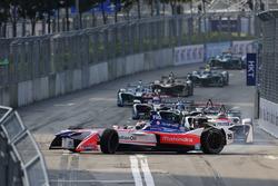 Felix Rosenqvist, Mahindra Racing, part en tête-à-queue au départ