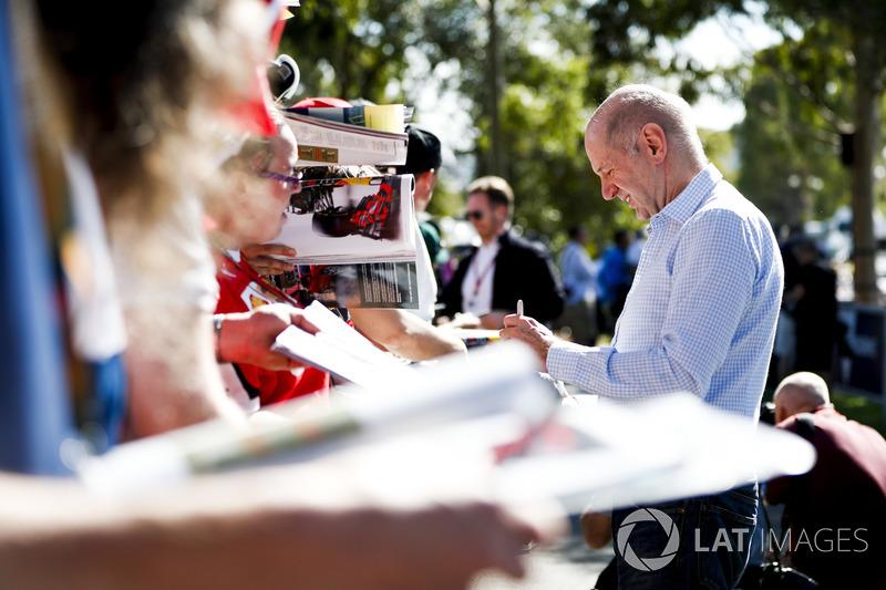 Adrian Newey, Teknik Şef, Red Bull Racing