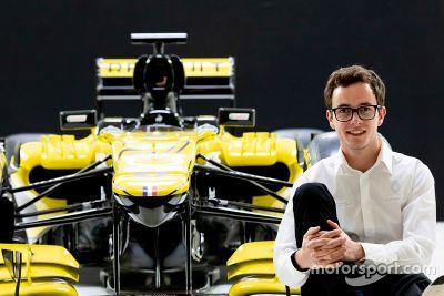 Антуан Юбер в Renault
