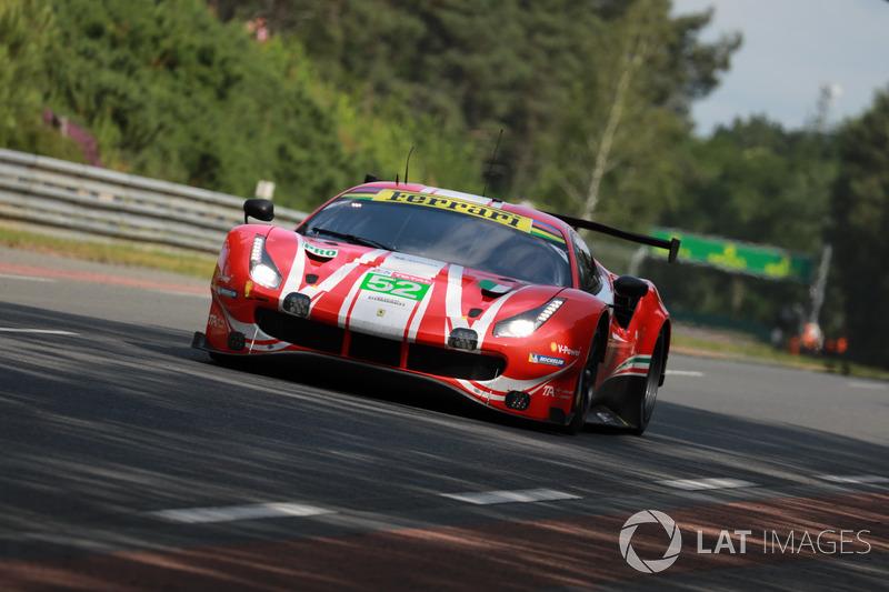 15. LMGTE-Pro: #52 AF Corse, Ferrari 488 GTE EVO
