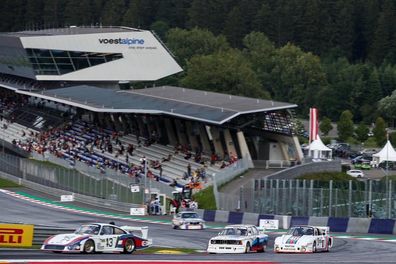Jochen Mass, Porsche 935, Harald Grohs, BMW 320 e Gerhard Berger, Porsche 935