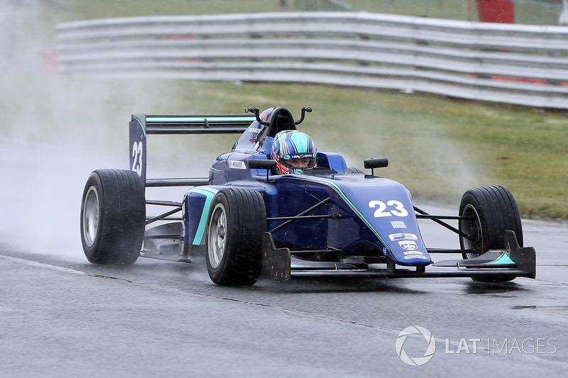 Билли Монгер, Carlin MSV Formula 3