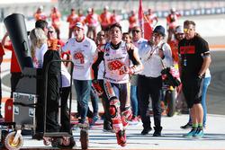 Wereldkampioen Marc Marquez, Repsol Honda Team viert feest