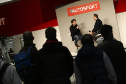 Oliver Rowland talks to Henry Hope-Frost on the Autosport Stage