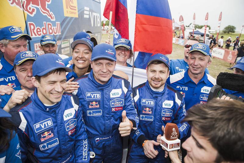 Переможець Едуард Ніколаєв, Team KAMAZ Master