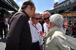 غيرهارد بيرجر وبيرني إكليستون، الرئيس الفخري للفورمولا واحد