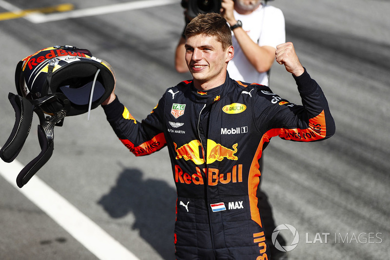 Max Verstappen venceu na casa da Red Bull Racing