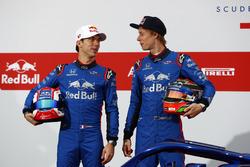Pierre Gasly, Scuderia Toro Rosso and Brendon Hartley, Scuderia Toro Rosso