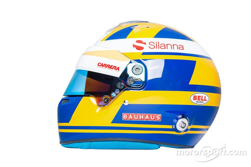Helm Marcus Ericsson, Sauber