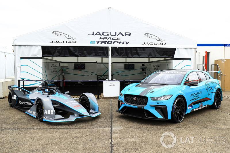 Formula E Gen2 car, Jaguar iPace eTrophy car